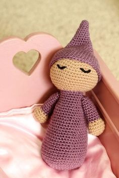 I wanted to share this sweet little baby doll I crocheted for a friend. I love how simple it is but it's still so cute!  The pattern is made in pieces. The body is one piece, two arms, the head, and t