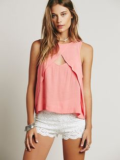Free People Tempt Me Triangle Top at Free People Clothing Boutique