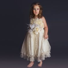 115.00$  Buy now - http://alid3d.worldwells.pw/go.php?t=32787812624 - 2017 New Arrival Flower Girl Dresses A-Line Ruffles Lace Spaghetti Straps Sleeveless Ankle Length First Communion Pageant Gowns  115.00$