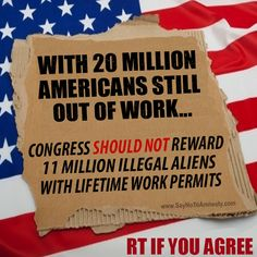 What is it about the word ILLEGAL that liberals don't understand? So many have met legal qualifications and come here legitimately to be productive citizens...why would you want people here who are not honest and milk our system? Oh, wait...unconvicted criminals vote when handed a free ride, don't they?