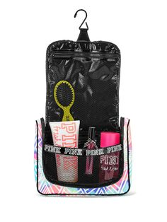 Shop our All Bags & Accessories - Victoria's Secret collection to find your sexiest look. Only at Beauty. Pink Bathroom Accessories, Pink Accessories, Cute Girl Outfits, Pink Outfits, Hanging Shower Caddy, Pink Showers, Pink Baths, Glam Room, Pink Nation