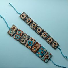 Gorgeous polyclay bracelet