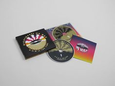CD boxset for Nightmares on Wax, N.O.W. Is The Time (Warp Records)