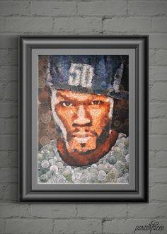 PosterFaces—«Кертис Джексон. 50 cent»