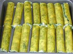 PO PROSTU PYSZNE: CANNELLONI ZE SZPINAKIEM Asparagus, Food And Drink, Cooking Recipes, Vegetables, Eat, House, Recipies, Studs, Home