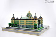 https://flic.kr/p/RYRHoS | Czech National Museum | Our newest project completed! Speed build video is here: www.youtube.com/watch?v=eQalYR5qx1g #czech #nationalmuseum #museum #prague #bricks #brickpoint #microscale #lego #moc #afol