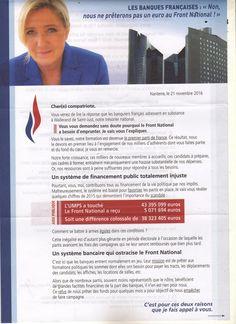 les banques françaises .....vis à vis du front national