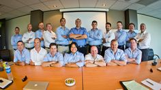 Not a bad looking bunch! Apricus RM team!
