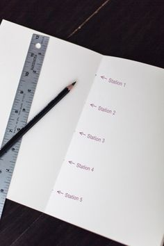 Bookbinding 101: Five-Hole Pamphlet Stitch tutorial by Grace Bonney