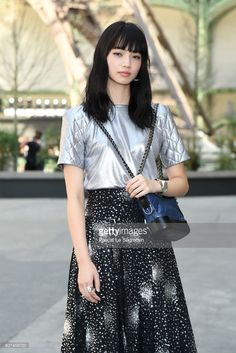 Nana Komatsu attends the Chanel Haute Couture Fall/Winter 20172018 show as part of Haute Couture Paris Fashion Week on July 4 2017 in Paris France Girl Fashion, Fashion Outfits, Womens Fashion, Paris Fashion, Nana Komatsu Fashion, Nana Osaki, Komatsu Nana, Haute Couture Paris, Japanese Models