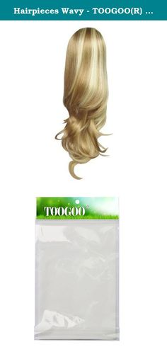 Hairpieces Wavy - TOOGOO(R) Women's Ponytail Hairpieces Wavy Ponytail Hair Extensions Highlight Ponytail Extensions #K22THK613B Brown & Blonde Ponytail. * TOOGOO is a registered trademark. ONLY Authorized seller of TOOGOO can sell under TOOGOO listings.Our products will enhance your experience to unparalleled inspiration. TOOGOO(R) Women's Ponytail Hairpieces Wavy Ponytail Hair Extensions Highlight Ponytail Extensions #K22THK613B Brown & Blonde Ponytail size:40cm Model...