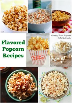 Flavored Popcorn #Recipes http://www.momsandmunchkins.ca/2014/05/23/flavored-popcorn-recipes/ #Popcorn