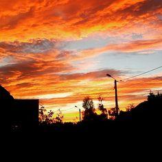 Mazurskie niebo wrzesień