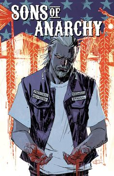 Sons of Anarchy COVERS on Illustration Served