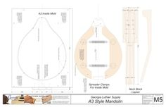 A3 Mandolin Plan: Electronic Version