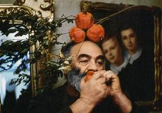 Sergei Parajanov and pomegranates, our two favorite things...