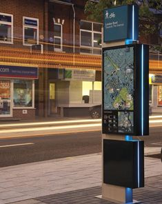 Southampton Legible City for City ID Digital Signage, Digital Kiosk, Kiosk Design, Signage Design, Environmental Graphic Design, Environmental Graphics, Wayfinding Signs, Signage Display, Outdoor Signage
