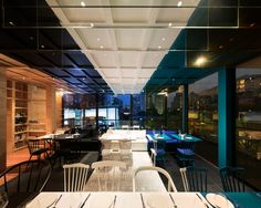 Hashme's layered restaurant interior is driven by social media - News - Frameweb