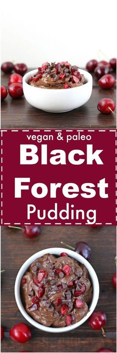 Black Forest Pudding [Vegan & Paleo]