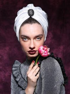 Swarovski Wedding turban
