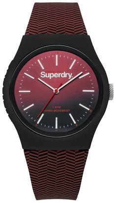 Superdry Urban Herringbone Watch SYG184RB