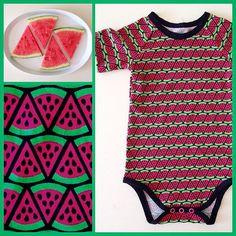 Für alle Jersey-Fans und Melonen-Freunde haben wir jetzt genau das richtige: #jersey#melone für 16€/m - lecker, oder?! ☀️ #nähen#sewing#knits#handmade#selfmade#diy#baby#body#onsie#fabric#stoff#frautulpe