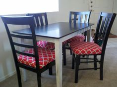 Kitchen Table Chair Slipcovers  Httpsodakaustica Fascinating Custom Dining Room Chair Cushions Decorating Inspiration