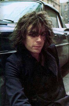 syd barrett, 1969. taken by mick rock. #sydbarrett #pinkfloyd