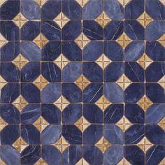 ILÍADA: Ilíada-pr Azul - 43'5x43'5 (p)cm.   Pavimento - Porcelánico   VIVES Azulejos y Gres S.A.