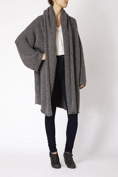 Capote Coat by Lauren Manoogian #artisanmade
