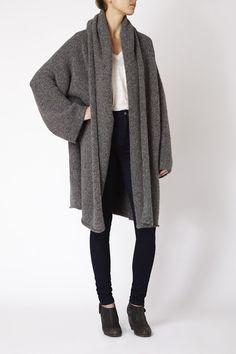 Capote Coat by Lauren Manoogian #artisanmade