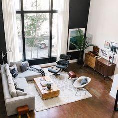10x interieurs in mid-century moderne stijl - Alles om van je huis je Thuis te maken | HomeDeco.nl #midcenturymodernlivingroom