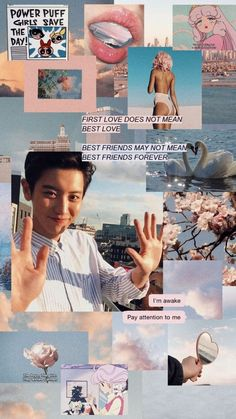 Sky in the sunset - fiziksel Aesthetic People, Kpop Aesthetic, Park Chanyeol Exo, Suho, Taemin, Kpop Wallpapers, Exo Lockscreen, Puff Girl, Exo Members