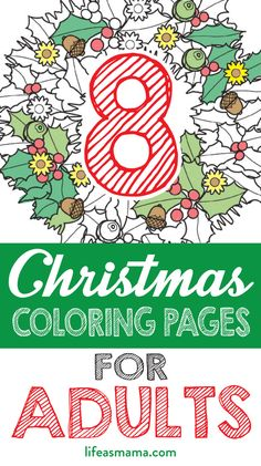 8 Christmas Coloring Pages For Adults – Free Family Activities – – Family Activities – art therapy activities Winter Activities For Kids, Activities For Adults, Art Therapy Activities, Color Activities, Christmas Activities, Craft Activities, Family Activities, Christmas Makes, Christmas Colors