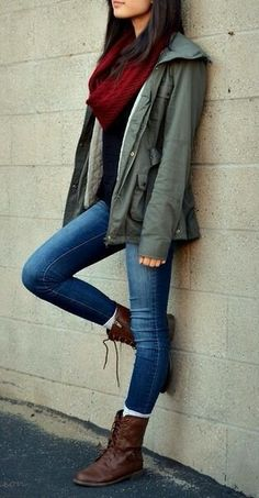 Cute & casual fall ouffit