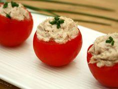 Recette Apéritif : Tomates cocktail farcies à la mousse de thon par AmandineCooking