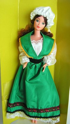 Irish barbie dress