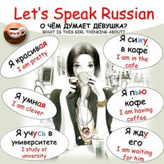 Let's Speak Russian Russian Language Lessons, Russian Lessons, Russian Language Learning, Learn French, Learn English, Learn Russian Alphabet, Learning Languages Tips, How To Speak Russian, Foreign Words