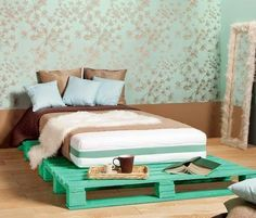 Σπίτι και κήπος διακόσμηση: 12 Diy Ιδέες με κρεβάτια από Παλέτες που θα σας αφήσουν άφωνους