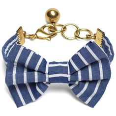 Brooks Brothers Kiel James Patrick Seersucker Stripe Bow Tie Bracelet ($58) ❤ liked on Polyvore featuring jewelry, bracelets, navy, bracelet bangle, brooks brothers jewelry, navy bracelet, bracelet jewelry and navy jewelry