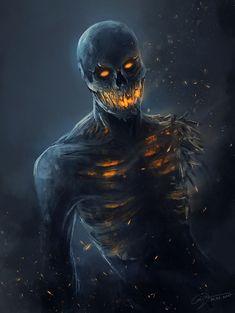 Monster Art, Monster Concept Art, Fantasy Monster, Fantasy Kunst, Dark Fantasy Art, Fantasy Artwork, Dark Creatures, Mythical Creatures Art, Shadow Creatures