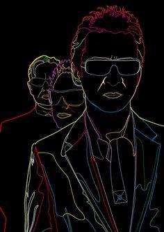 Depeche Mode by Salanka (Deviantart)