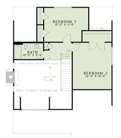 House Plan 82086 Level Two