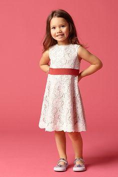 Flower Girl - Seahorse Dress Addie. Matches Bridesmaid dress!
