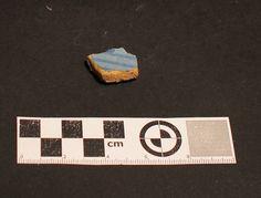 Fragmento de cerámica Ligurian Blue, encontrada en excavación en Mondoñedo http://mondomedieval.blogspot.com.es/search?updated-max=2016-12-05T04:25:00-08:00