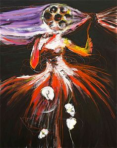 Arachne - nikiNeuts - artiste peintre contemporain sera sur ArtShopping ce week end