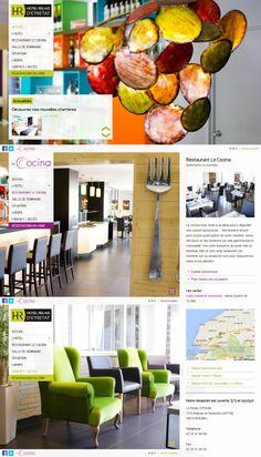www.hotelrelaisdetretat.com - Création du site Internet de l'Hôtel Relais d'Etretat #website #siteweb #webagency #agenceweb #opteam #restaurant #bolbec #normandie