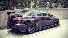 Mitsubishi Evolution X #Minty