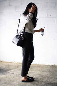 Top - Just Female Trousers - Topshop Shoes - Mango Bag - Givenchy Mini Antigona Bracelet - Celine Sunglasses - Dior so real
