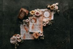Chic, dark and moody, black tie wedding stationery for a luxury wedding in the country or for a destination wedding abroad in France. Italian Wedding Invitations, Watercolor Wedding Invitations, Wedding Stationery, Luxury Wedding, Destination Wedding, Country Wedding Inspiration, Wedding Abroad, Countryside Wedding, French Wedding